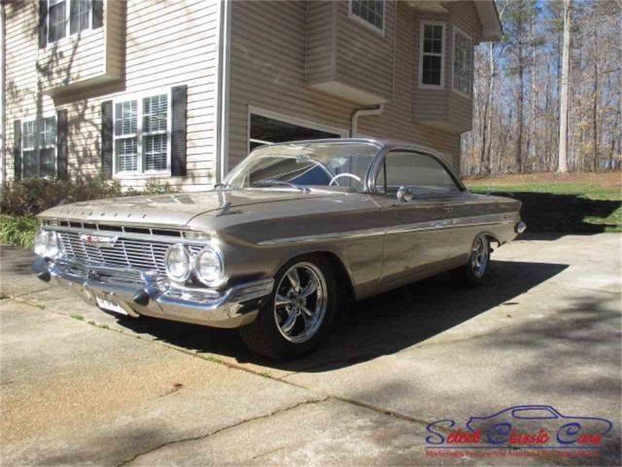 1961 chevrolet impala for sale cc 964703. Black Bedroom Furniture Sets. Home Design Ideas