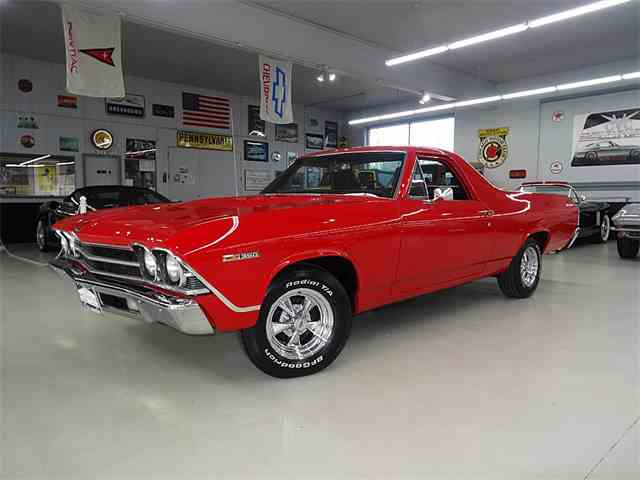 1969 CHEVROLET EL CAMINO FRAME OFF RESTORED | 964720