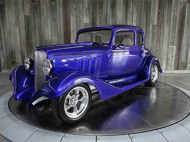 1933 CHEVROLET 3 WINDOW STEEL HOT ROD | 964721