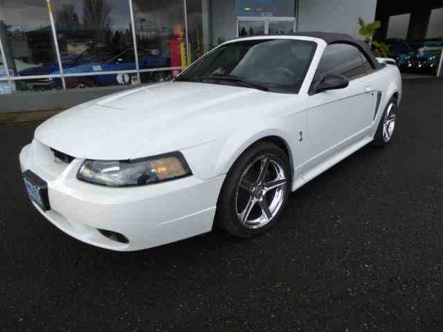 2001 Ford Mustang SVT Cobra Convertible | 964811