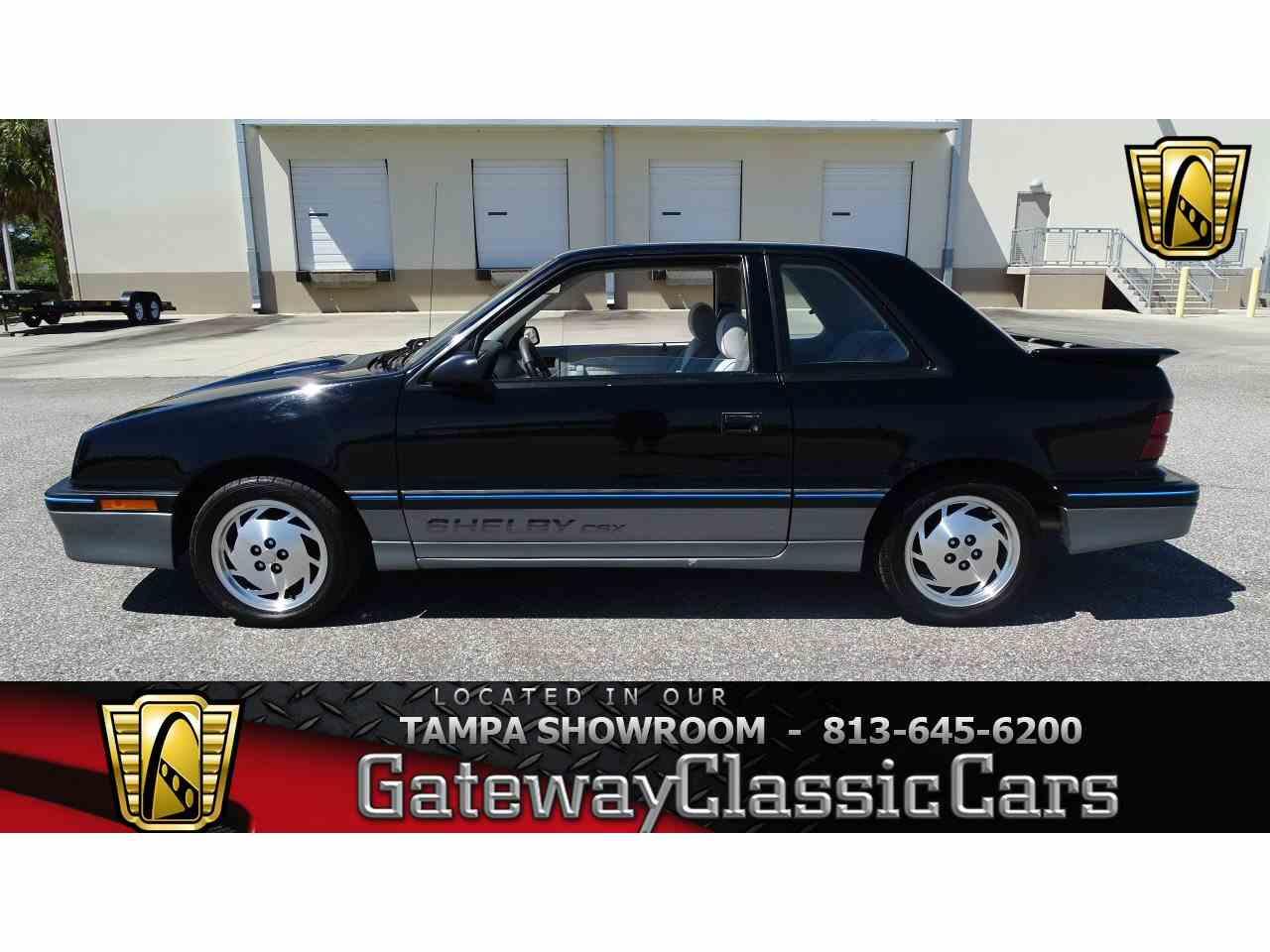 1987 Shelby CSX for Sale - CC-964895
