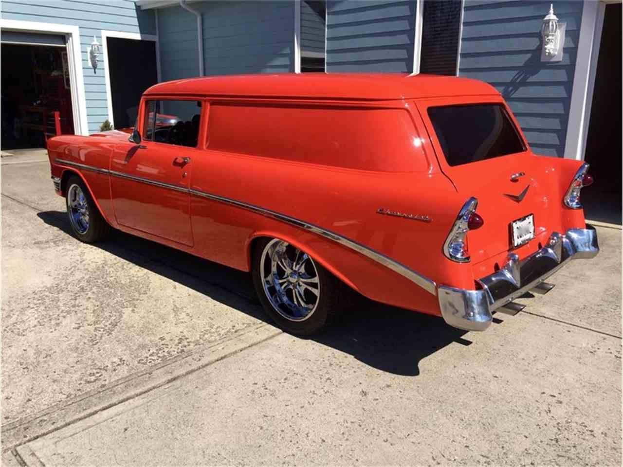 1956 chevrolet sedan delivery for sale cc 964927. Black Bedroom Furniture Sets. Home Design Ideas