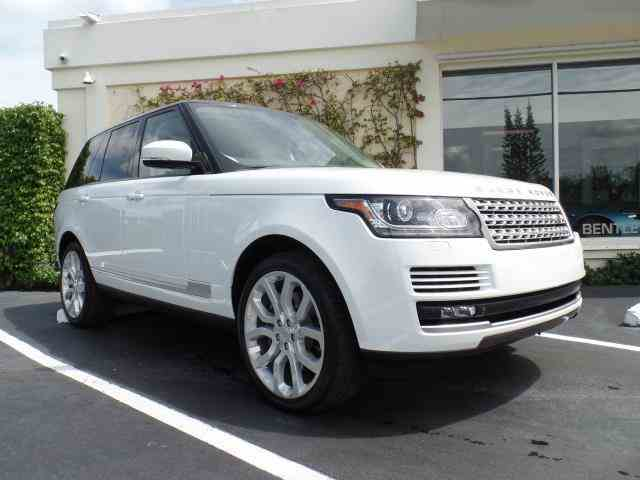 2015 Land Rover Range Rover Supercharged | 964986