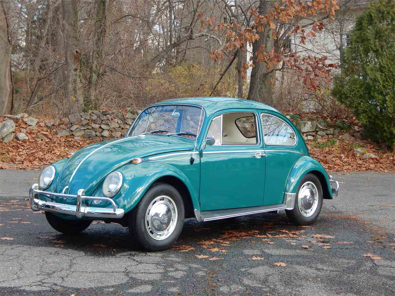 1966 volkswagen beetle for sale cc 965222. Black Bedroom Furniture Sets. Home Design Ideas