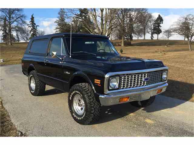 1971 Chevrolet K5 Blazer   965366