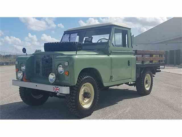 1971 Land Rover Series IIA | 965444