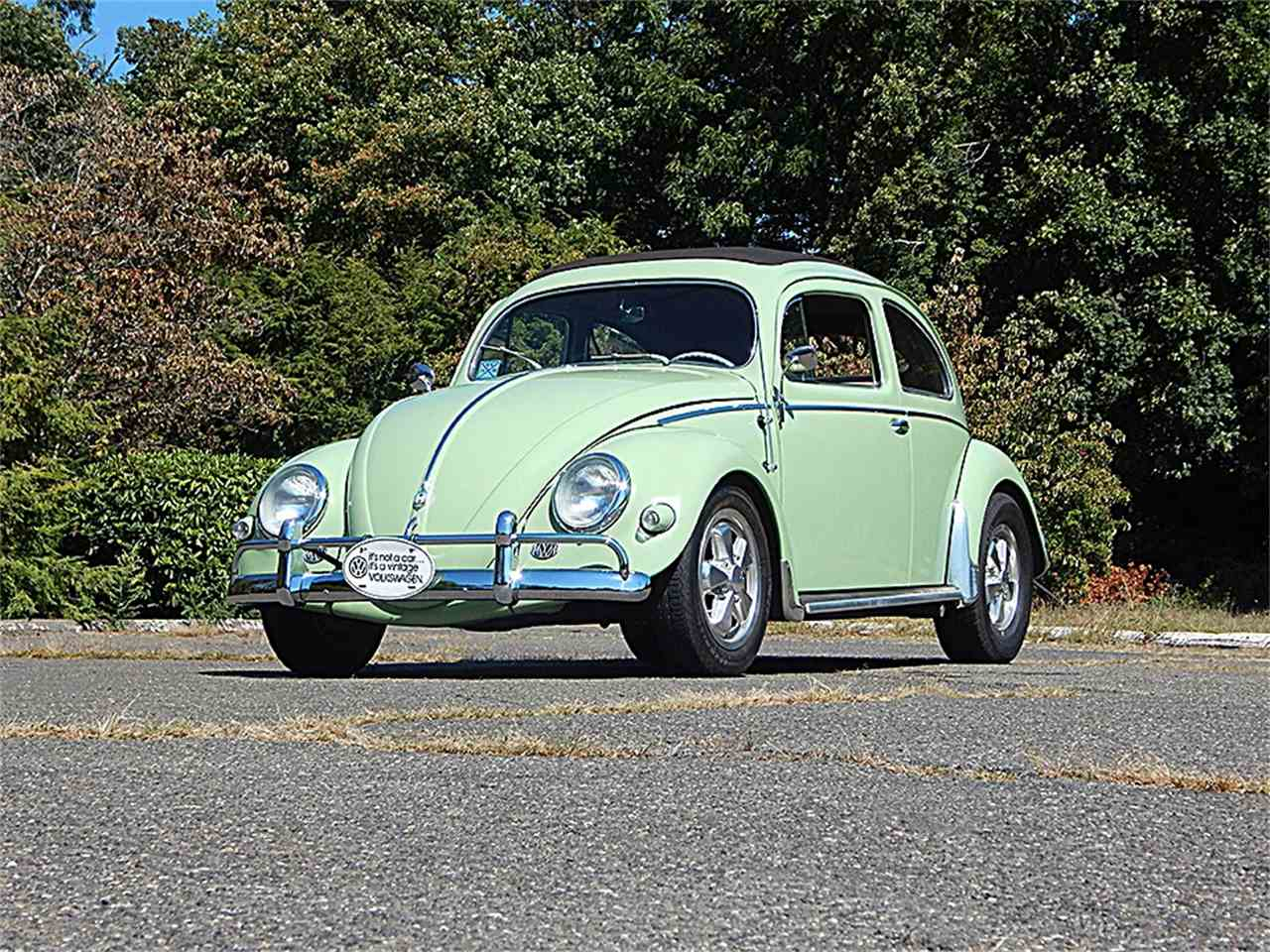 1956 volkswagen beetle for sale cc 965603. Black Bedroom Furniture Sets. Home Design Ideas