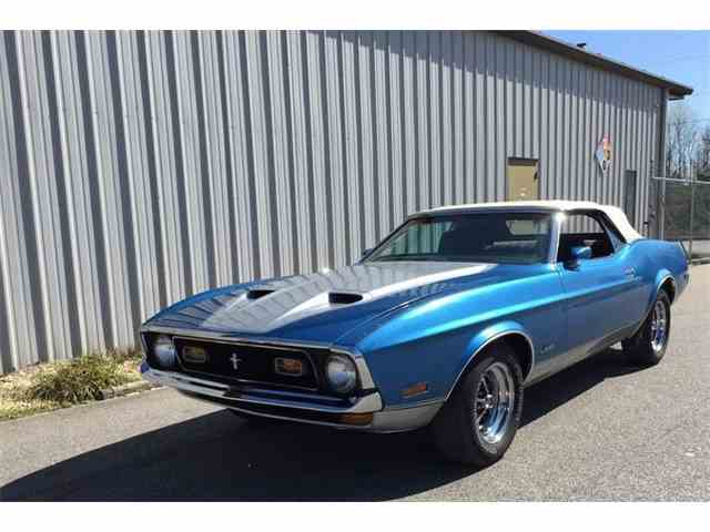 1972 Ford Mustang   965913