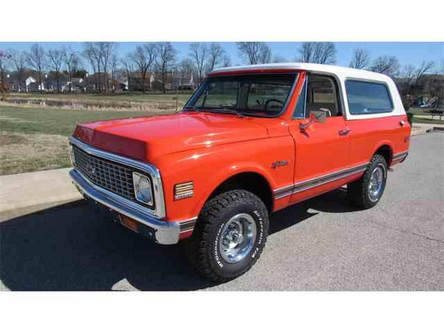 1971 Chevrolet Blazer | 966037