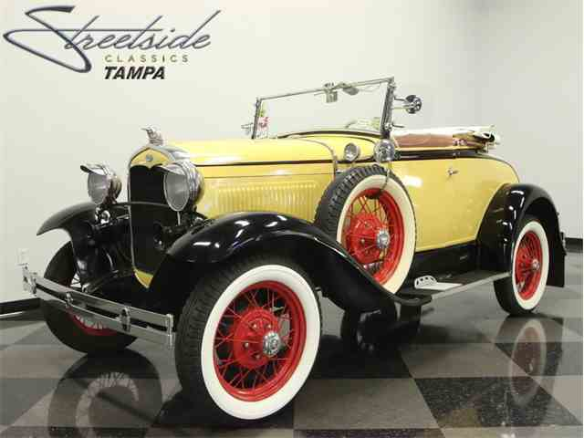 1931 Ford Modle A Deluxe Roadster | 966094