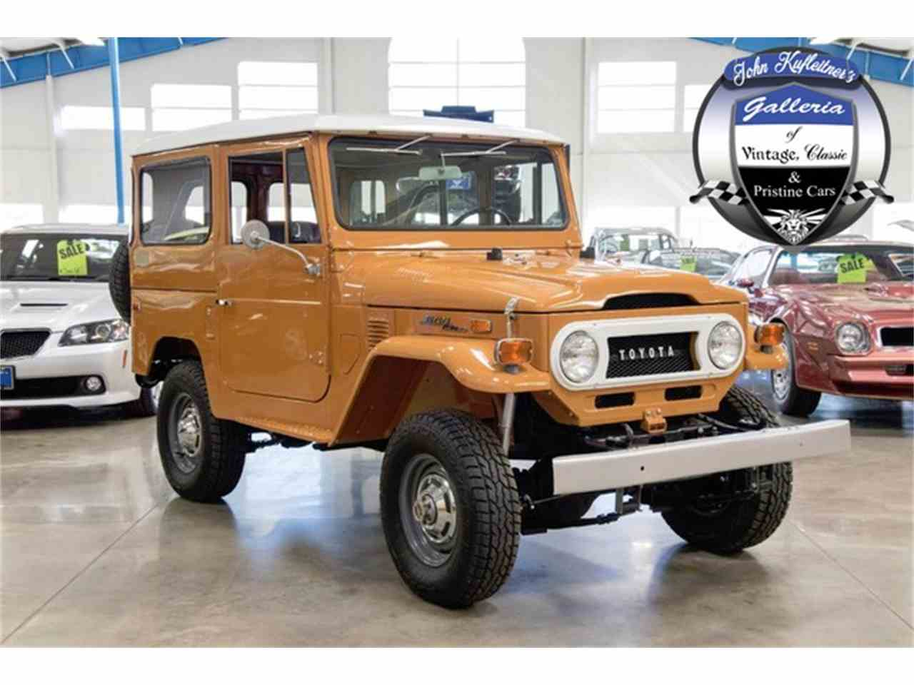 1973 toyota land cruiser fj for sale cc 966120. Black Bedroom Furniture Sets. Home Design Ideas