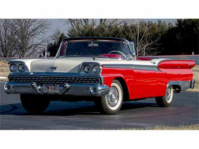1959 Ford Fairlane 500 Galaxie Skyliner Retractable Hardtop | 966255