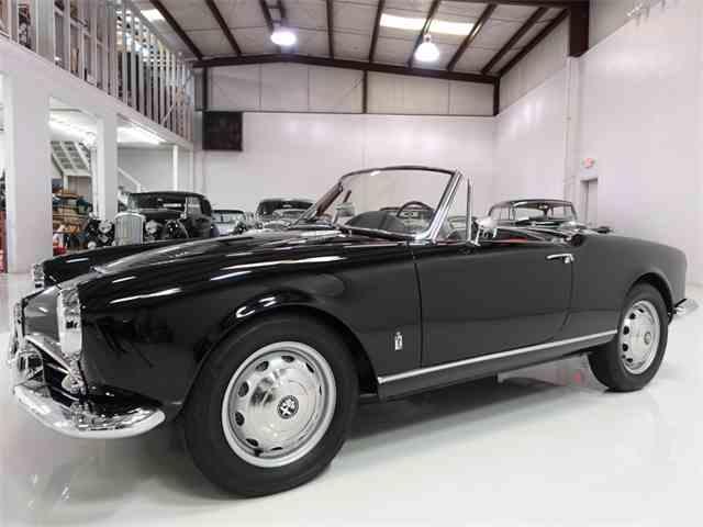 1962 Alfa Romeo Giulia 1600 Normale Spider   966385