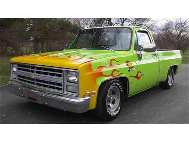1983 Chevrolet Scottsdale Pickup - Short Bed | 966440