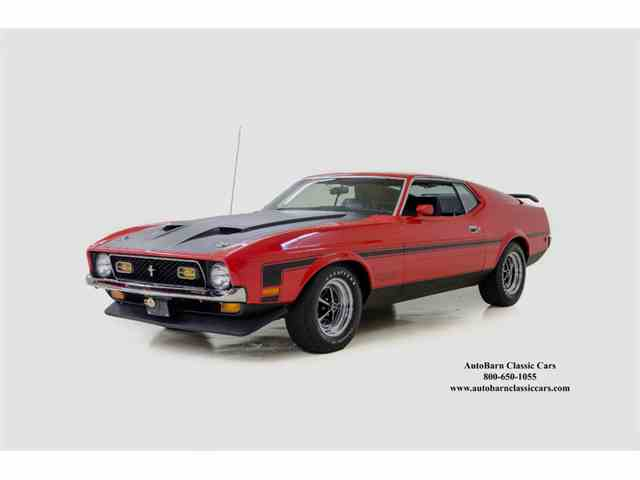 1971 Ford Mustang Mach I 351 Boss | 966555