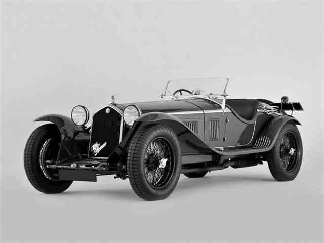 1932 Alfa Romeo 8C Zagato Spider 2300 | 966564