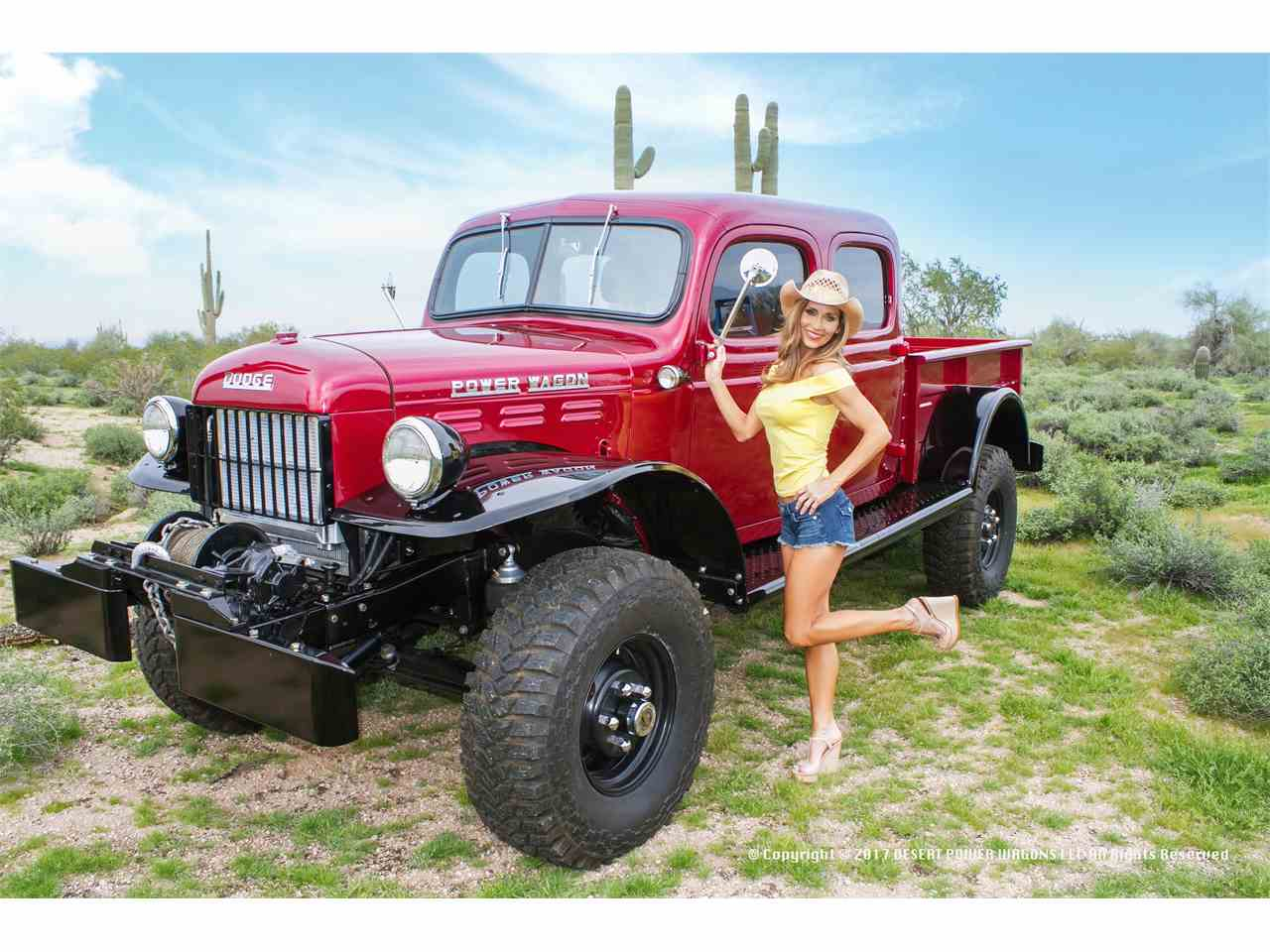 1955 dodge power wagon for sale cc 966676. Black Bedroom Furniture Sets. Home Design Ideas