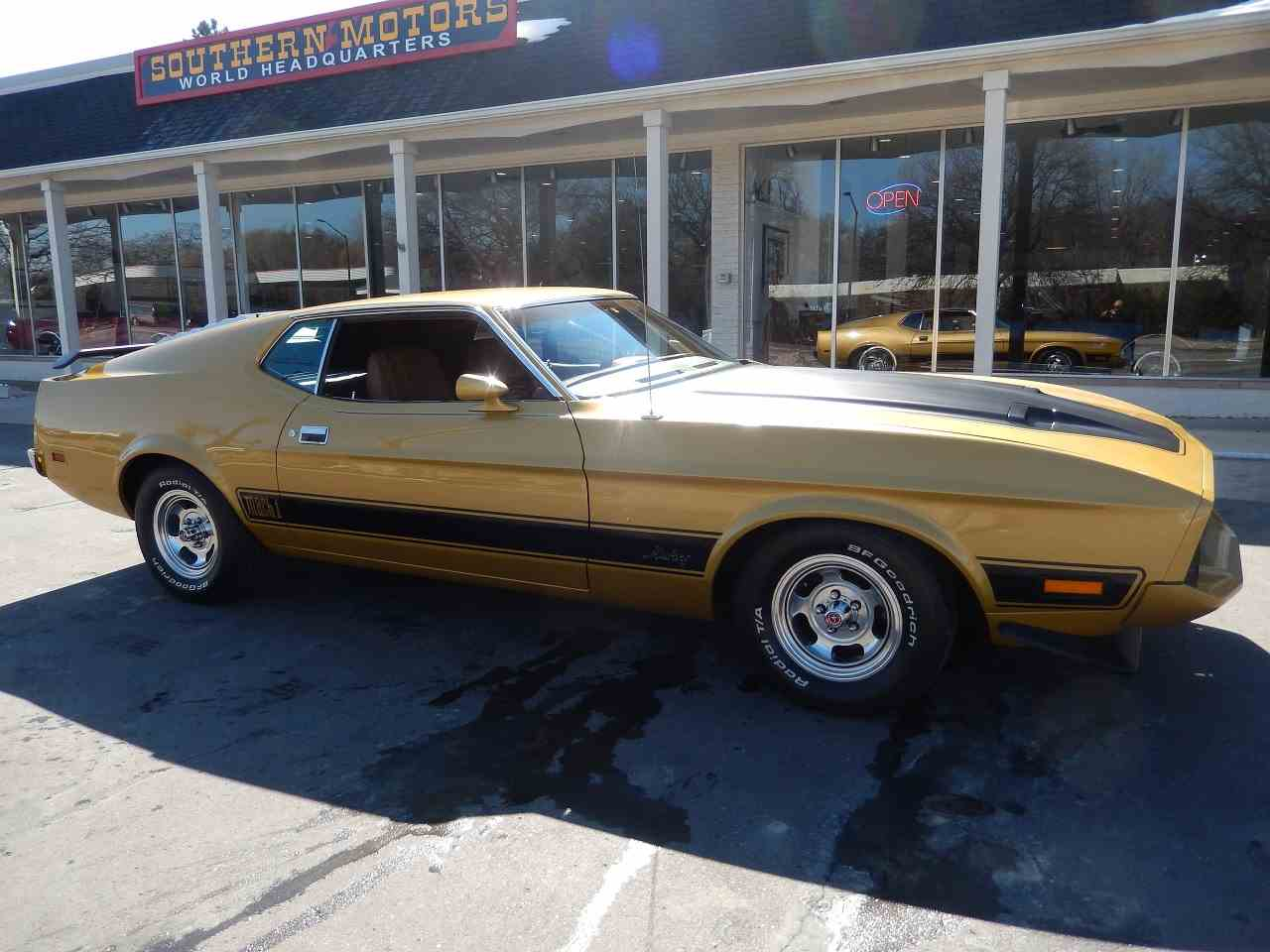 1973 ford mustang mach 1 for sale cc 966715. Black Bedroom Furniture Sets. Home Design Ideas