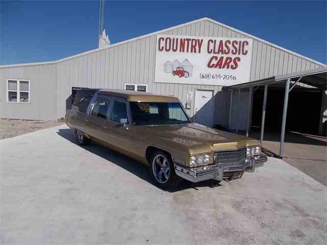 1973 Cadillac Hearse   966779