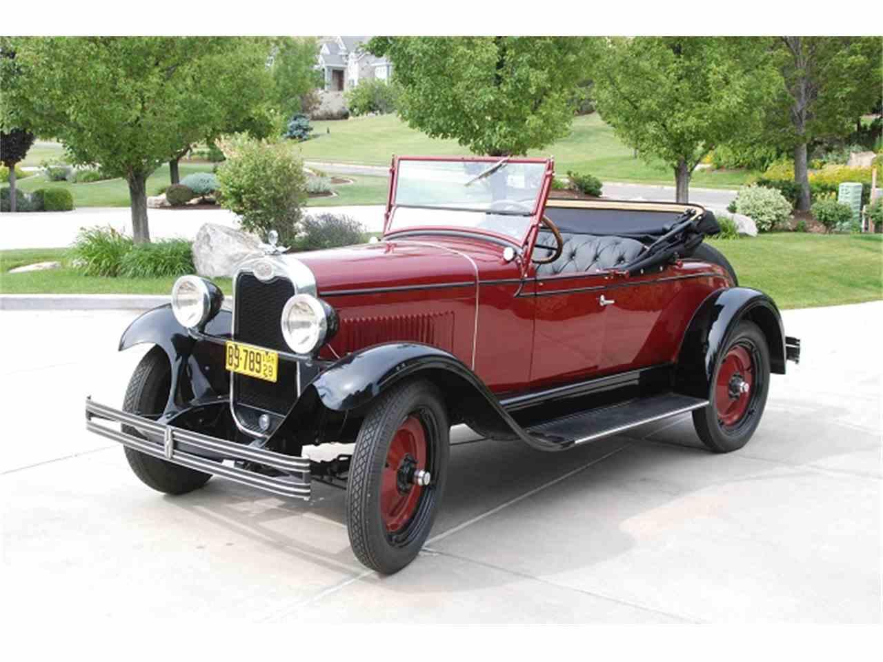 1928 シボレー ロードスター