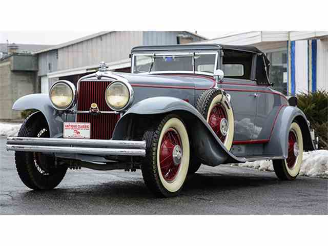 """1931 Stutz Series MA """"SV16"""" Cabriolet Coupe 