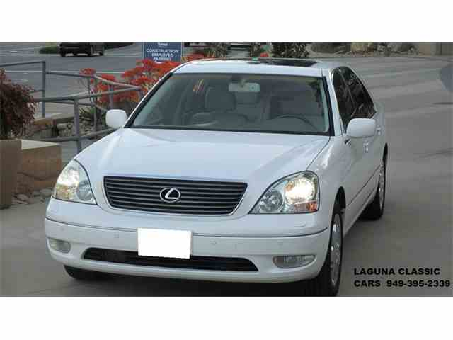 2002 Lexus LS430 ULTRA LUXURY PACKAGE | 966982