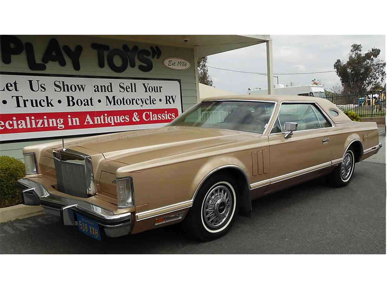 Large Picture of '79 Continental Mark V - $12,995.00 Offered by Play Toys Classic Cars - KQ5T
