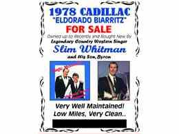 Picture of 1978 Cadillac Eldorado Biarritz - $13,500.00 - KQ5W
