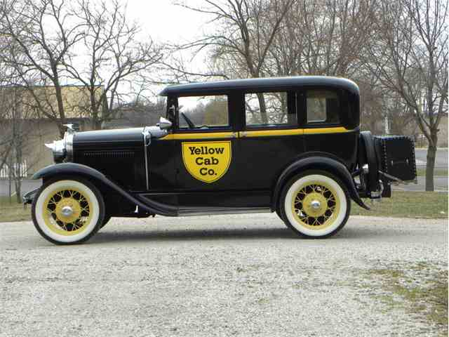 1930 Ford Model A Briggs Body 4 Door Taxi | 967101