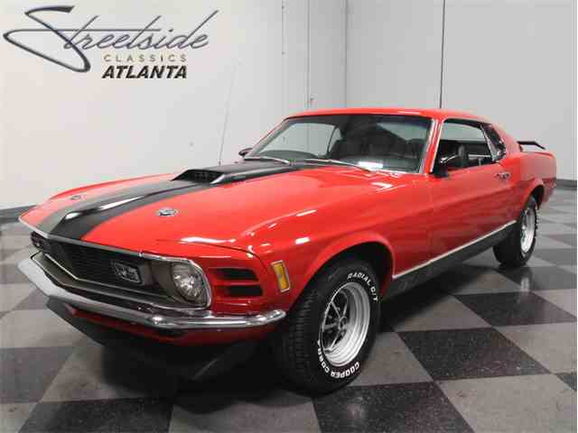 1970 Ford Mustang Mach 1 for Sale on ClassicCarscom  18 Available