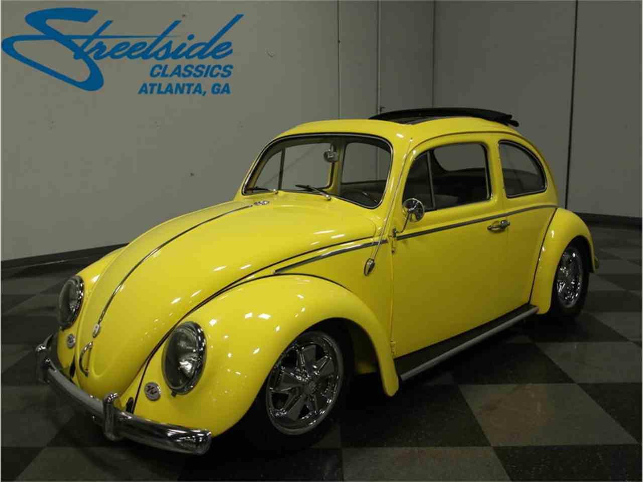 1960 volkswagen beetle for sale cc 967114. Black Bedroom Furniture Sets. Home Design Ideas