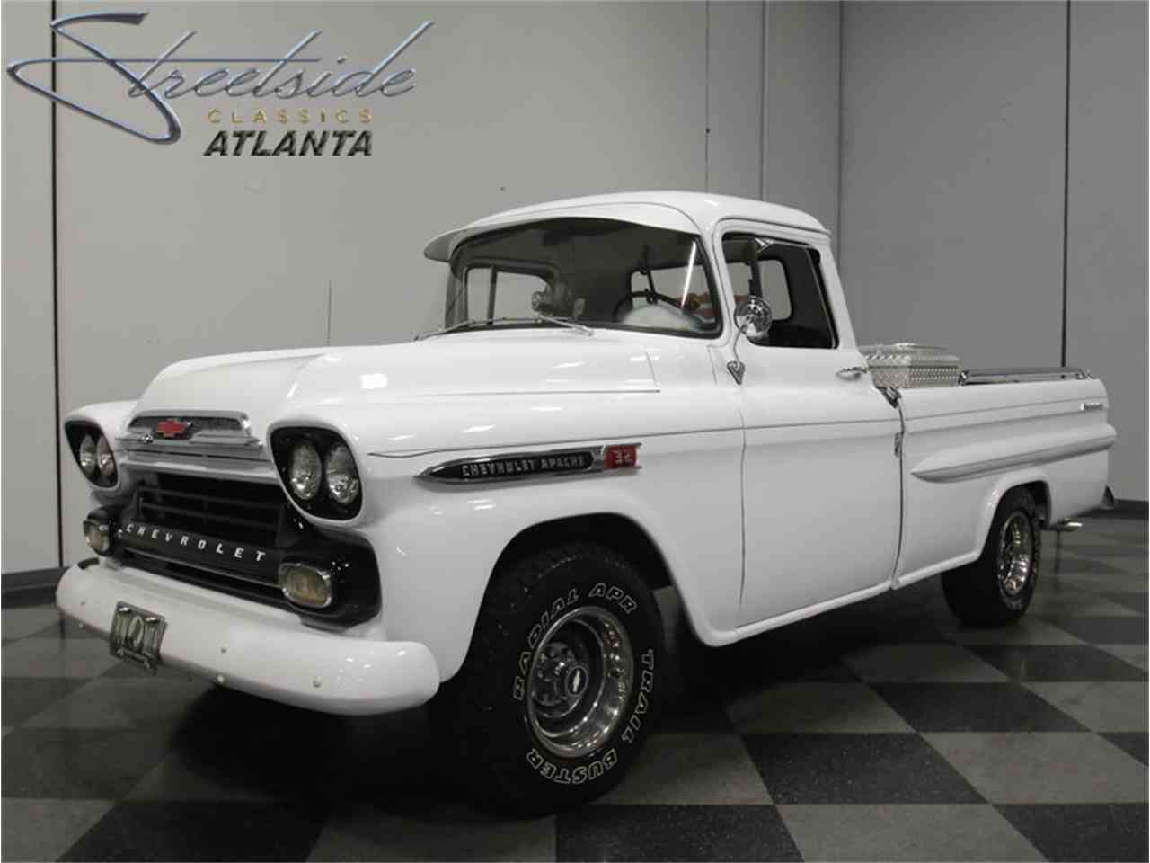 1959 chevrolet apache for sale cc 967117. Black Bedroom Furniture Sets. Home Design Ideas