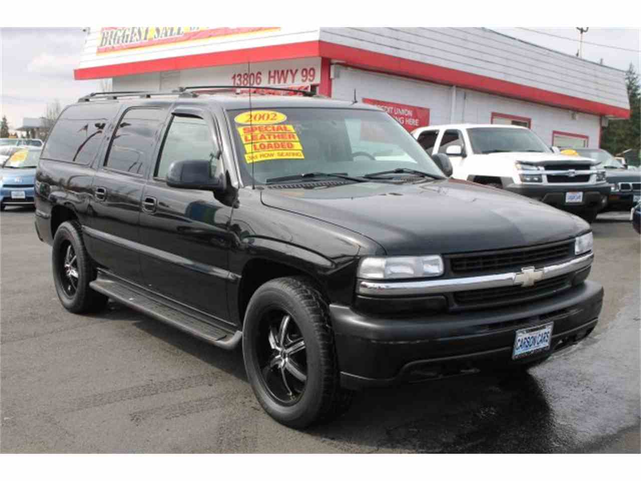 2002 chevrolet suburban for sale cc 967132. Black Bedroom Furniture Sets. Home Design Ideas
