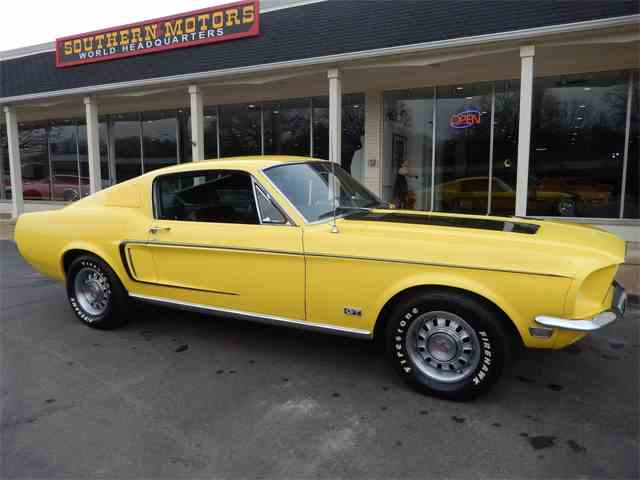 1968 Ford Mustang GT | 967270
