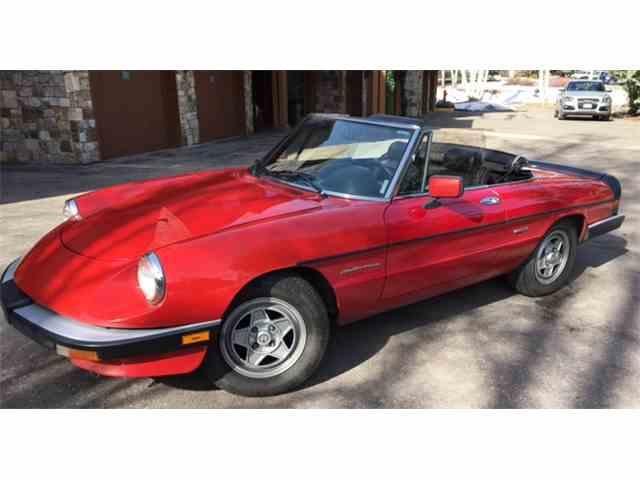 1986 Alfa Romeo 2000 Spider Veloce | 967305