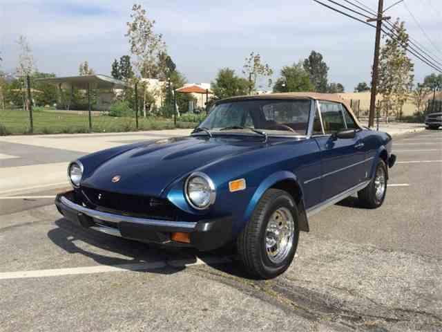1976 Fiat Spider 1800 | 967486