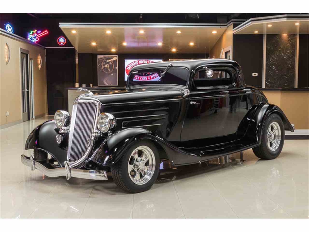 1934 ford 3 window coupe street rod for sale classiccars for 1934 ford three window coupe