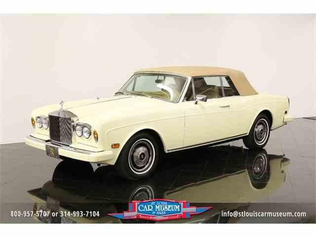 1982 Rolls Royce Corniche Drophead Coupe | 967557