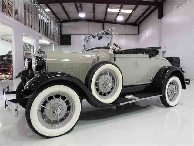 1929 Ford Model A Super Deluxe Roadster Replica | 967579