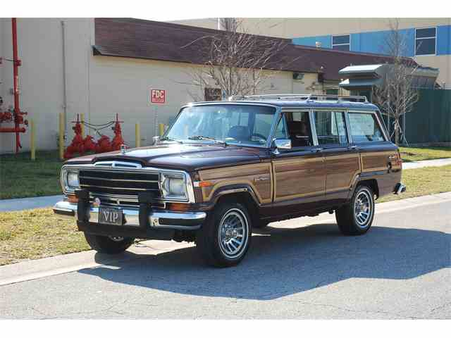 1988 jeep wagoneer cc 967591 for sale is one of. Cars Review. Best American Auto & Cars Review