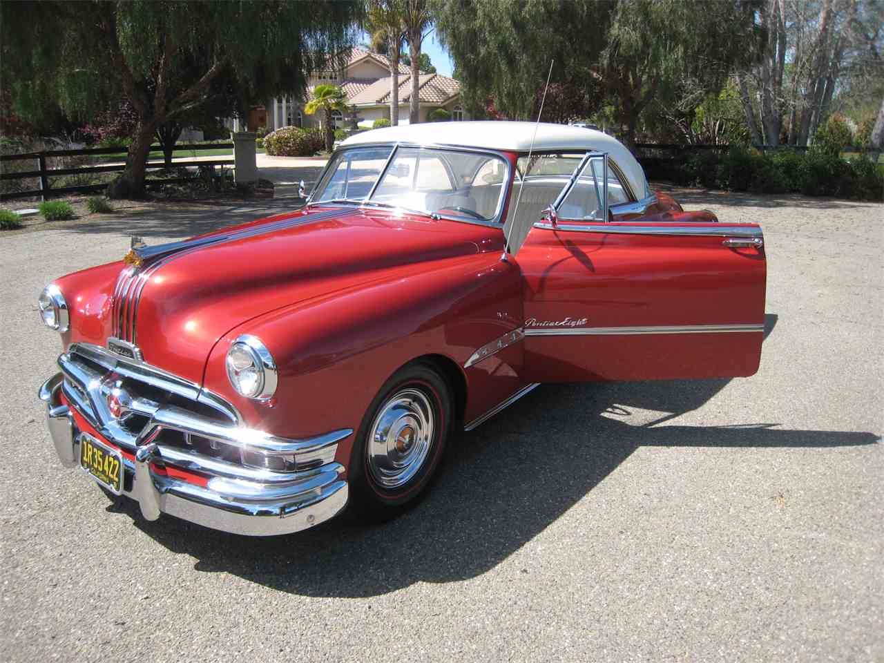 1951 pontiac chieftain deluxe eight for sale cc 967800. Black Bedroom Furniture Sets. Home Design Ideas