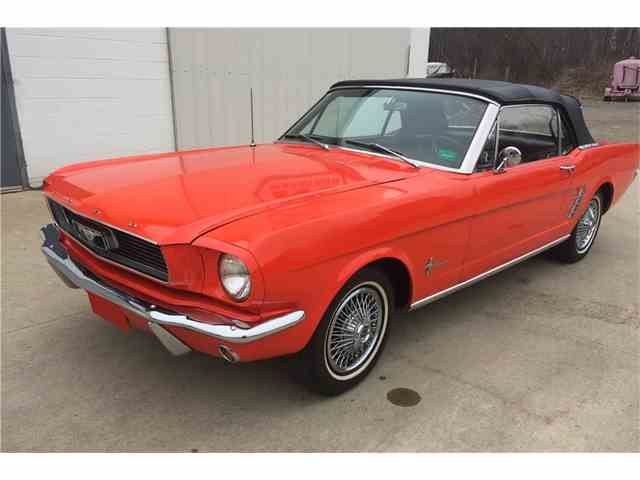 1966 Ford Mustang   967811