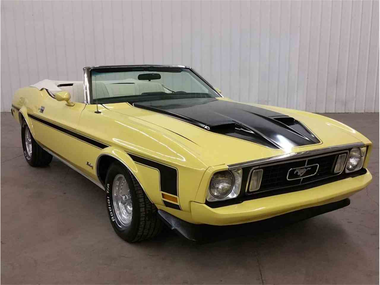 1973 ford mustang for sale cc 967926. Black Bedroom Furniture Sets. Home Design Ideas
