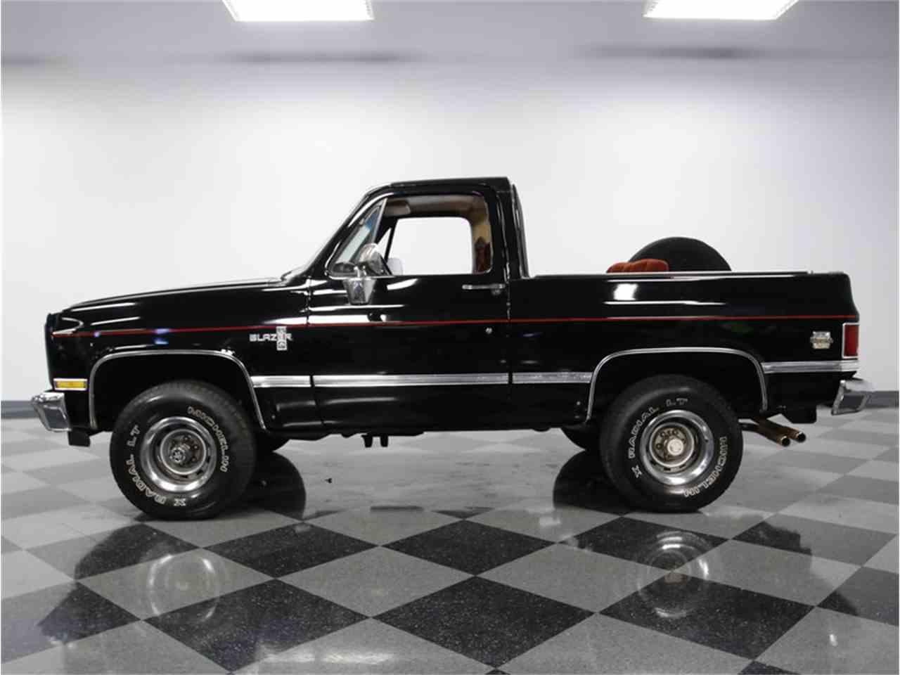 1986 Chevrolet Blazer K5 4x4 For Sale Classiccars Com
