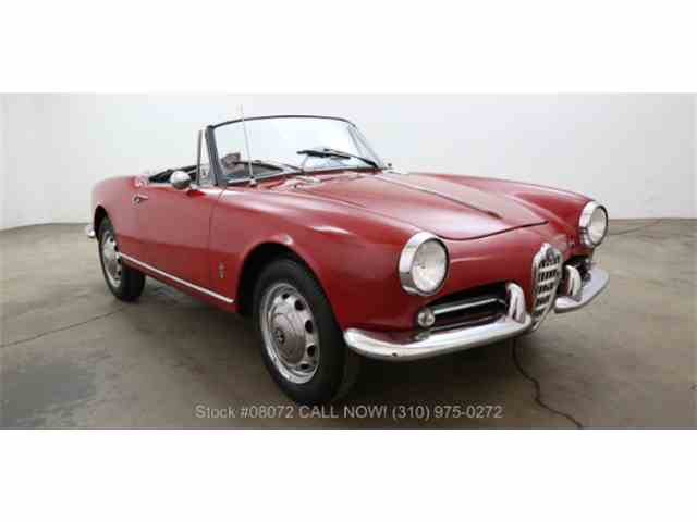 1960 Alfa Romeo Giulietta Spider   967999