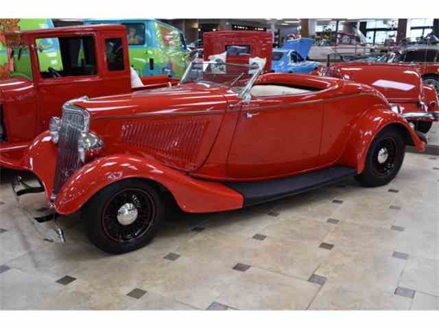 1934 Ford Cabriolet All Steel Body | 968008