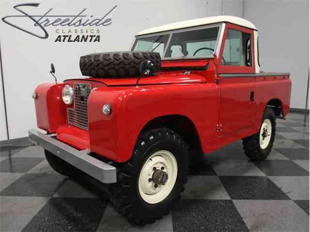 1966 Land rover Series IIA Pickup | 968018