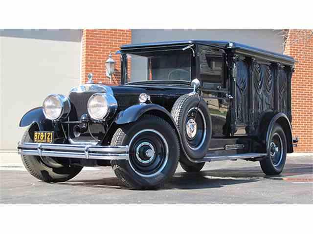 1929 Cunningham V-8 33286 Hearse | 968216