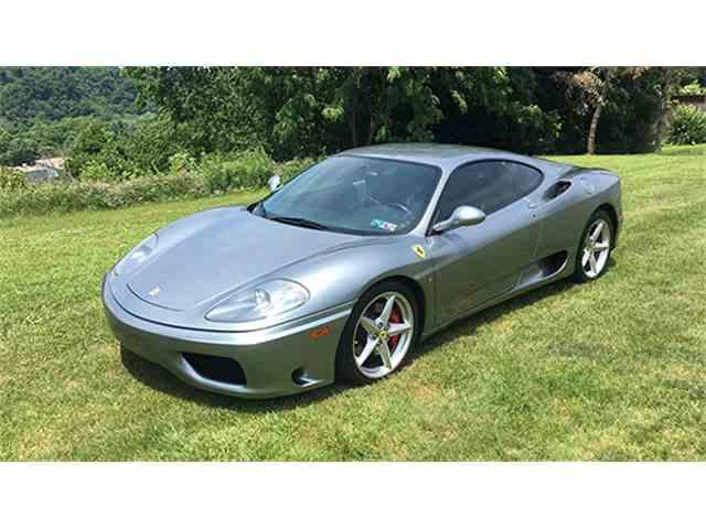 2001 Ferrari 360 F-1 Modena Coupe   968230