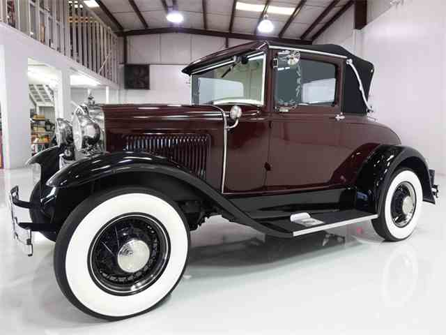 1931 Ford Model A Rumble Seat Sport Coupe | 968408